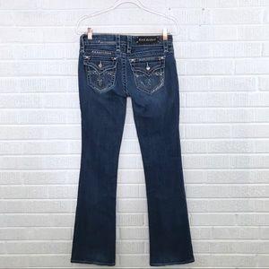 Rock Revival Celine Boot Cut Jeans Flap Pocket 28